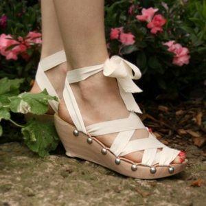 Mohop Ribbon Sandals 6W